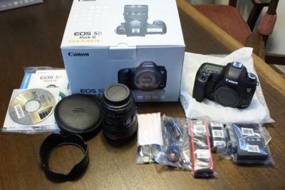 Nikon and Canon SLR Cameras